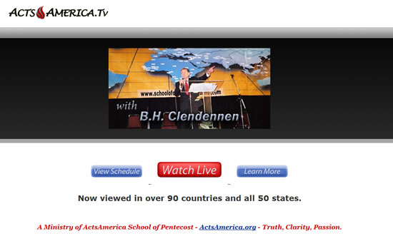 ActsAmerica.tv Screenshot